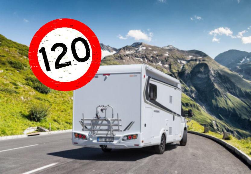 Nuevos limites de velocidad en Autocaravanas