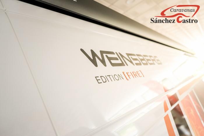 WEINSBERG CARABUS 601K EDITION FIRE lleno