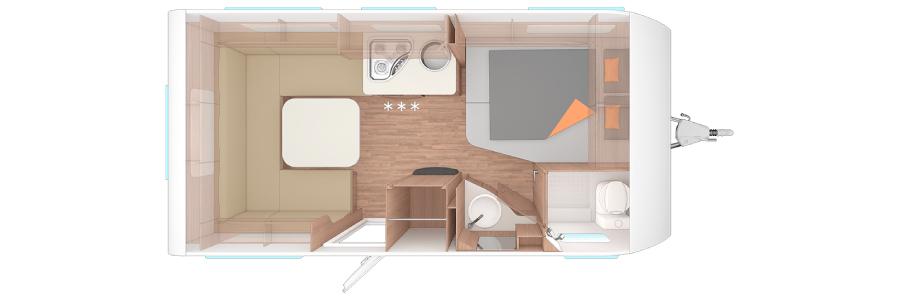 plano caravana dos ambientes