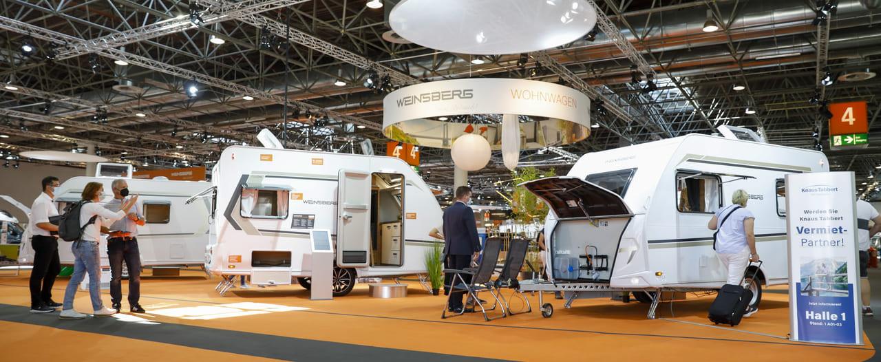 60º Caravan Salon Düsseldorf - Weinsberg